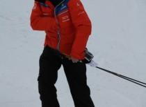 Dölf Alpiger organisiert Skirennen für das TZF