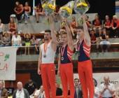 Sportbericht Schweizer Meisterschaft Kunstturnen F+M (SM)  25./26. Juni 2016 atletik zentrum st.gallen