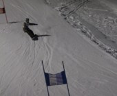 Spass auf der Skipiste