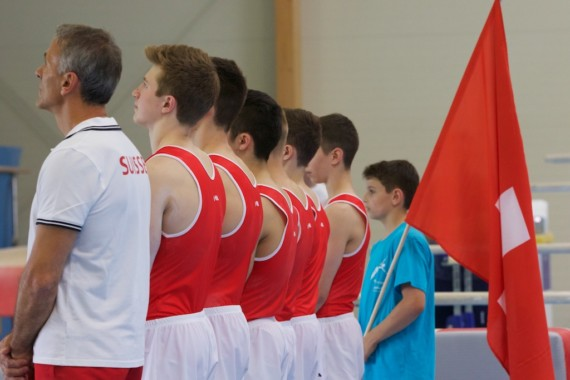 Schweizer Juniorenteam erturnt sich den Sieg