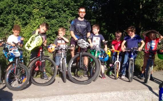 Fahrrad-Spass mit Markus Künzle auf dem Pumptrack in Münchwilen