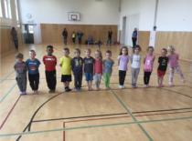 KidGym Talent Wettbewerb in der Klosterwegturnhalle